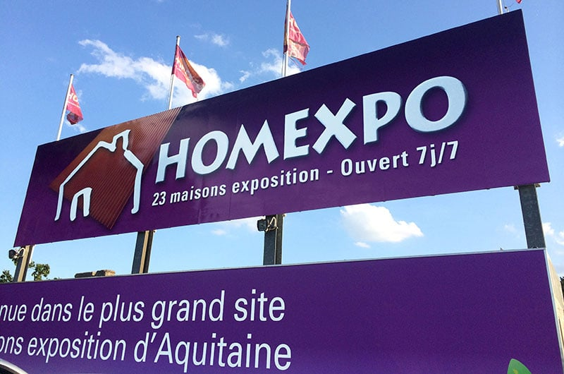 Homexpo vous accueille 7 jours/7